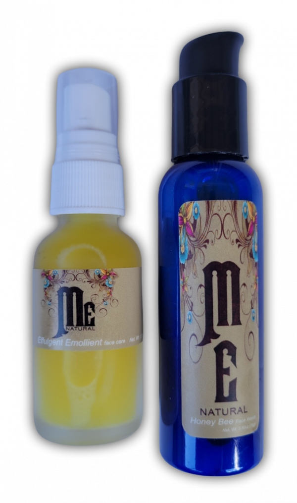 A gentle on the skin face wash and moisturizer from ME natural